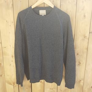 95%LAMBSWOOL 5%CASHMERE PULLOVER SWEATER KNIT